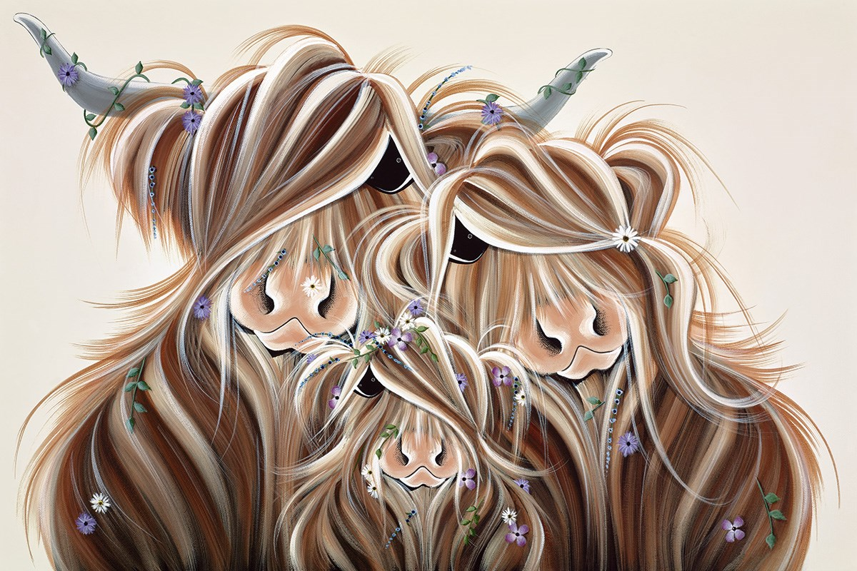 Precious McMoments by Jennifer Hogwood - Embellished Limited Edition on Canvas sized 24x16 inches. Available from Whitewall Galleries